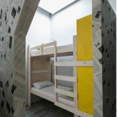 Fabrika Hostel Кровать в общем номере фото 11