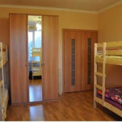 Central Hostel Кровать в общем номере двухъярусные кровати фото 4