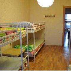 Central Hostel Кровать в общем номере двухъярусные кровати