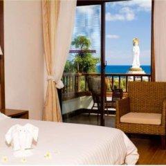 Отель Nanshan Leisure Villas 4* Стандартный номер с различными типами кроватей фото 2