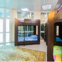 Хостел Амигос Кровать в общем номере с двухъярусной кроватью фото 7