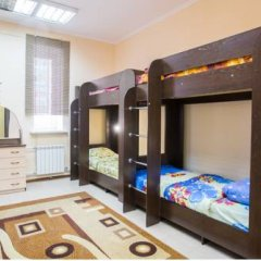 Хостел Амигос Кровать в общем номере с двухъярусной кроватью фото 9