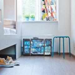 Хостел Graffiti L Кровать в мужском общем номере с двухъярусной кроватью фото 10