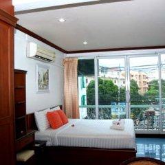Апартаменты Greenvale Serviced Apartment Номер Делюкс с различными типами кроватей
