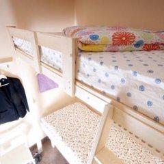 Hostel Simba on Gagarinsky Кровать в общем номере с двухъярусной кроватью фото 6