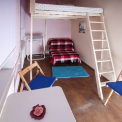 Hostel Simba on Gagarinsky Семейный номер категории Эконом с двуспальной кроватью фото 10