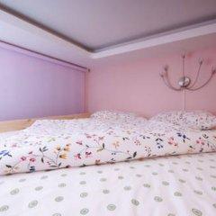 Hostel Simba on Gagarinsky Семейный номер категории Эконом с двуспальной кроватью фото 9
