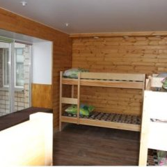 Хостел «Сибирь» Кровать в общем номере с двухъярусной кроватью фото 18