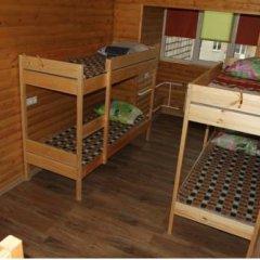 Хостел «Сибирь» Кровать в общем номере с двухъярусной кроватью