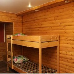 Хостел «Сибирь» Кровать в общем номере с двухъярусной кроватью фото 22