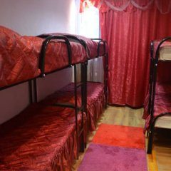 Pervyy Arbat Hostel Кровать в общем номере с двухъярусными кроватями фото 12