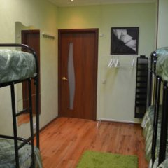 Pervyy Arbat Hostel Кровать в общем номере с двухъярусными кроватями фото 13
