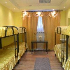 Arbat City Hostel Кровать в общем номере с двухъярусной кроватью