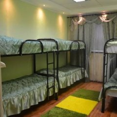 Pervyy Arbat Hostel Кровать в общем номере с двухъярусными кроватями фото 10