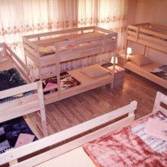 Hostel Akteon Lindros Kaliningrad Кровать в общем номере с двухъярусной кроватью фото 2