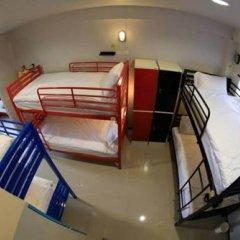 Отель S1hostel Bangkok Кровать в общем номере фото 4