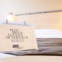 Отель KYRIAD PARIS EST - Bois de Vincennes 3* Улучшенный номер с двуспальной кроватью фото 6