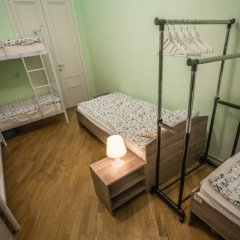 My Hostel on Arbat Кровать в общем номере с двухъярусной кроватью фото 19