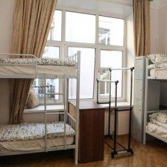 My Hostel on Arbat Кровать в общем номере с двухъярусной кроватью фото 16