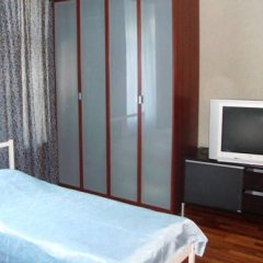Mini Hotel Abrikol Номер с общей ванной комнатой с различными типами кроватей (общая ванная комната) фото 4
