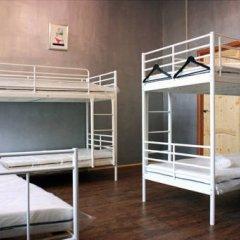Typography Hostel Кровать в общем номере с двухъярусными кроватями фото 9