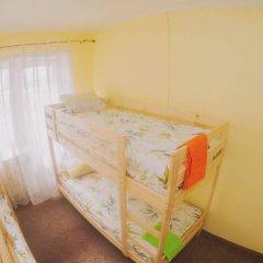 T-Hostel Кровать в общем номере с двухъярусной кроватью