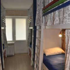 ID Hostel Кровати в общем номере с двухъярусными кроватями
