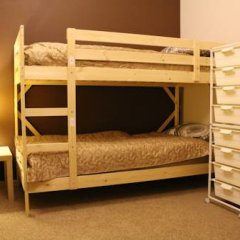 Гостиница Amigo Tzvetnoi Bulvar Кровать в общем номере с двухъярусной кроватью фото 5