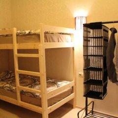 Гостиница Amigo Tzvetnoi Bulvar Кровать в общем номере с двухъярусной кроватью фото 33
