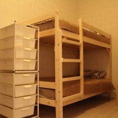 Гостиница Amigo Tzvetnoi Bulvar Кровать в общем номере с двухъярусной кроватью фото 27