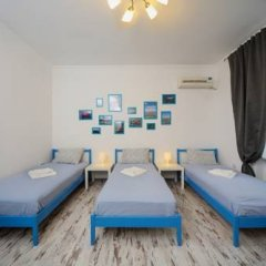 Хостел Акварель Кровати в общем номере с двухъярусными кроватями фото 7