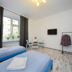 Хостел Акварель Кровати в общем номере с двухъярусными кроватями фото 6