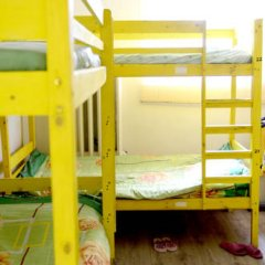 Хостел Правильный Выбор Кровати в общем номере с двухъярусными кроватями фото 2