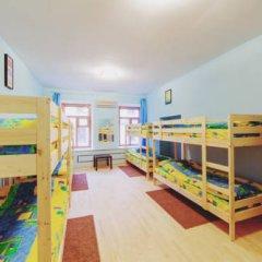 Мини-Отель Компас Кровать в общем номере с двухъярусной кроватью фото 38