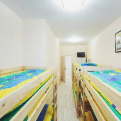 Мини-Отель Компас Кровать в женском общем номере с двухъярусной кроватью фото 17