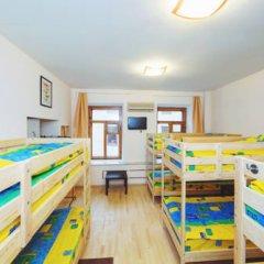 Мини-Отель Компас Кровать в общем номере с двухъярусной кроватью