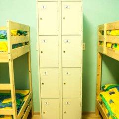Мини-Отель Компас Кровать в общем номере с двухъярусной кроватью фото 40