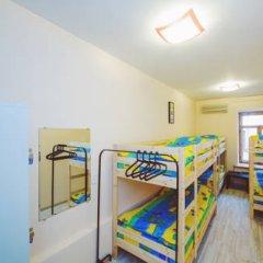 Мини-Отель Компас Кровать в женском общем номере с двухъярусной кроватью