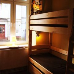 Отель Hostelik Wiktoriański Стандартный номер с различными типами кроватей (общая ванная комната) фото 16