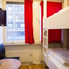 Отель Backpackers Goteborg Стандартный номер с 2 отдельными кроватями (общая ванная комната)
