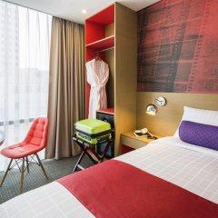 Отель ibis Styles Ambassador Seoul Myeongdong 4* Стандартный номер с различными типами кроватей фото 4