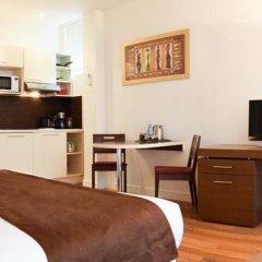 Отель Residhotel Impérial Rennequin 3* Студия с различными типами кроватей фото 12