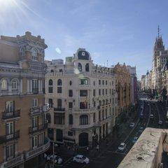 Отель Gran Via Suites The Palmer House Испания, Мадрид - отзывы, цены и фото номеров - забронировать отель Gran Via Suites The Palmer House онлайн балкон
