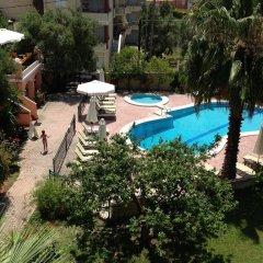 Отель Aloni Пефкохори бассейн