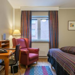 Отель Teaterhotellet 3* Стандартный номер с 2 отдельными кроватями фото 2