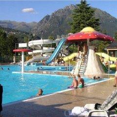 Отель Sunwaychalets Lago di Lugano Порлецца бассейн