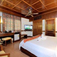Отель Tropica Bungalow Resort 3* Улучшенное бунгало с различными типами кроватей фото 27
