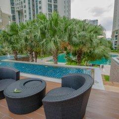 Отель Belle Grand Rama9 By Panu Таиланд, Бангкок - отзывы, цены и фото номеров - забронировать отель Belle Grand Rama9 By Panu онлайн бассейн фото 3