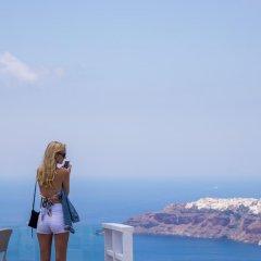 Отель Gizis Exclusive Греция, Остров Санторини - отзывы, цены и фото номеров - забронировать отель Gizis Exclusive онлайн приотельная территория
