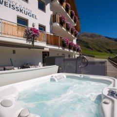 Отель Residence Weisskugel Langtaufers Südtirol Горнолыжный курорт Ортлер бассейн фото 3
